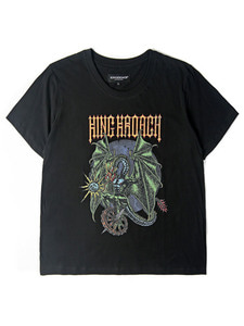MAD DRAGON TEE SS [BLACK]