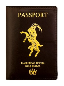 PASSPORT LEATHER COVER