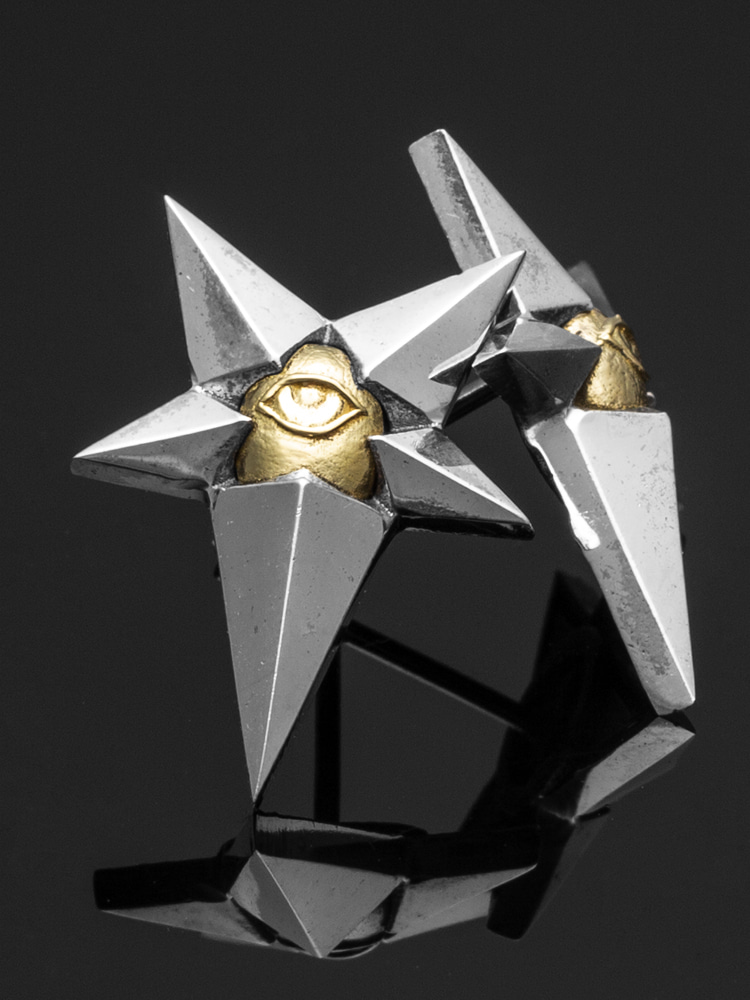 STAR EYE EARRING