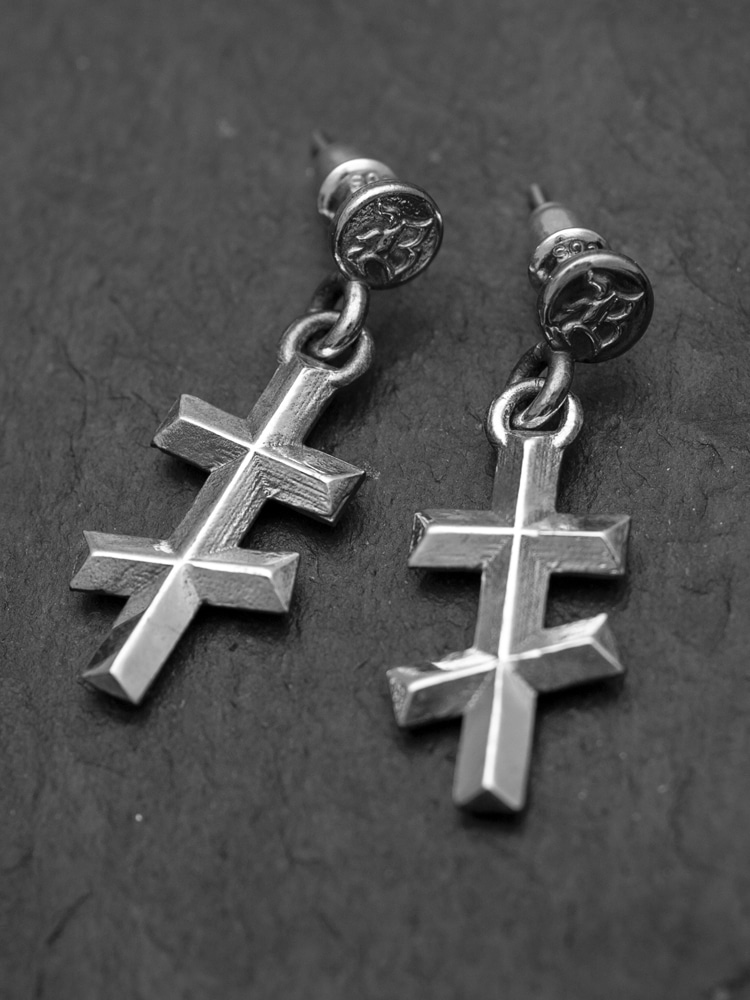 CRUCIFIX KROSS EARRING