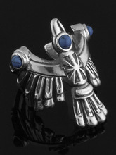 NATIVE EAGLE RING